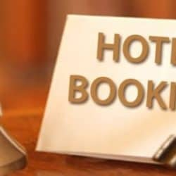 hotel booking visa
