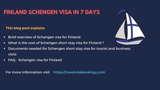 Finland Schengen visa