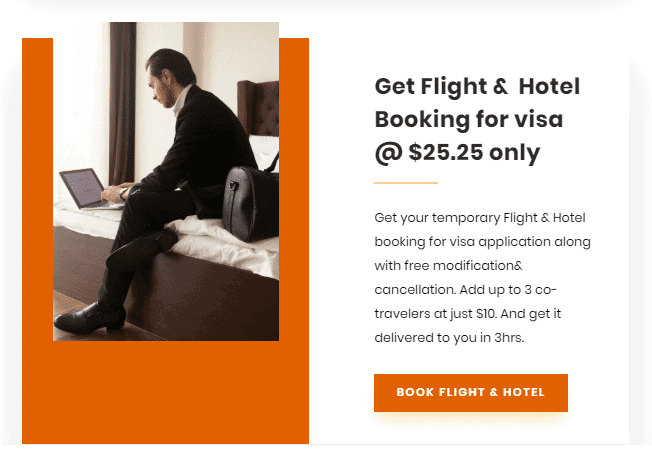 Flight & hotel booking