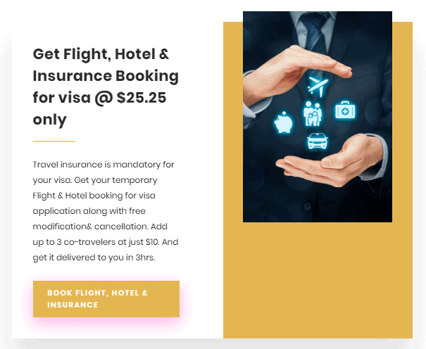 Flight,hotel and insurance