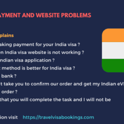 INDIA E VISA PAYMENT AND WEBSITE PROBLEMS - UPDATED 2017