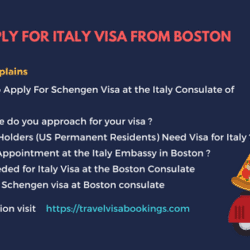 How To Apply For Italy Visa From Boston