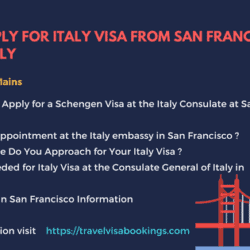How To Apply for Italy Visa from San Francisco Successfully