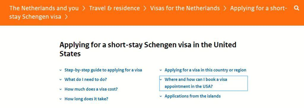 Where and how can I book a visa appointment in the US
