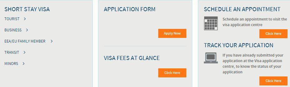 Schedule an appointment - VFS Global Portugal Schengen visa from the US
