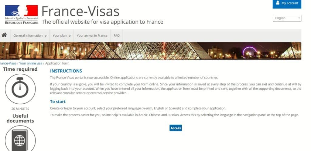 Online appointment for France Schengen Visa at Chicago
