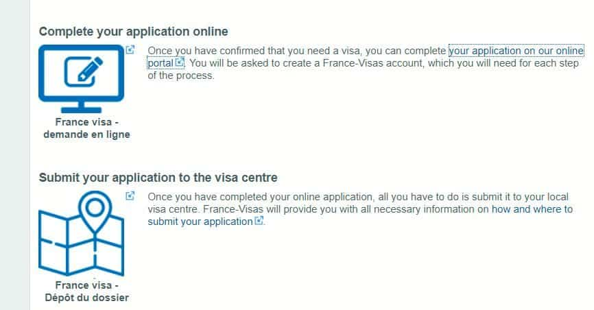complete your application online - French consulate in Houston