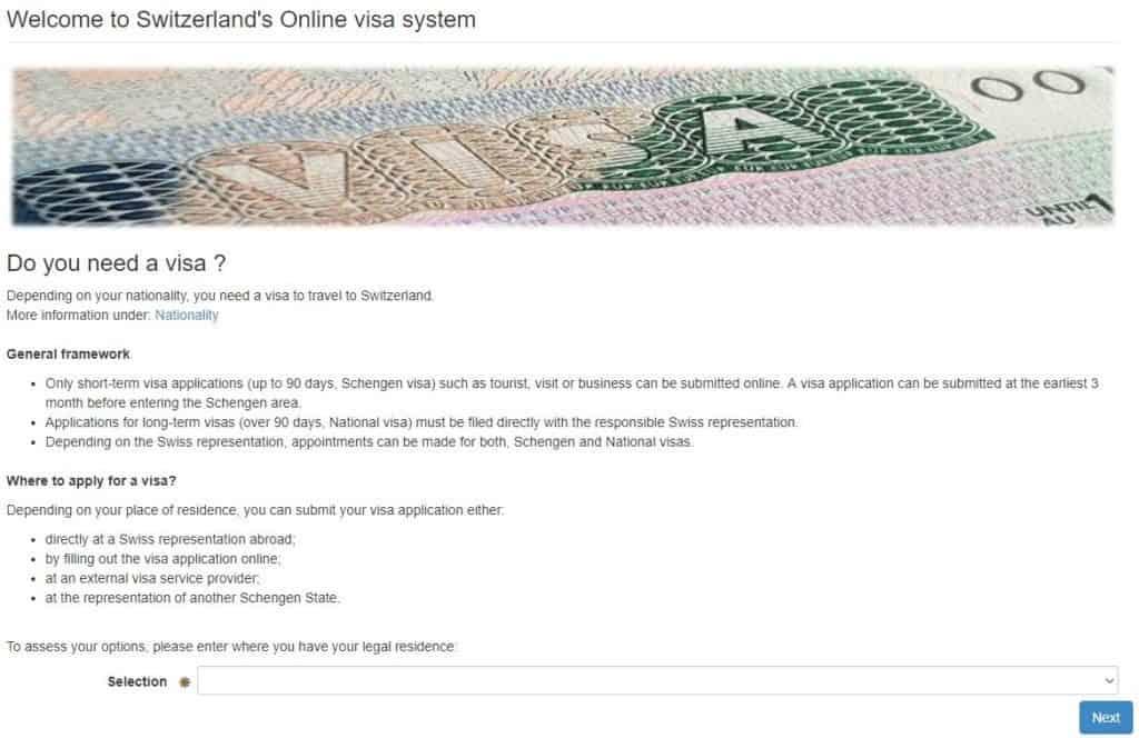How to apply for your Switzerland Schengen Visa from Atlanta Consulate?