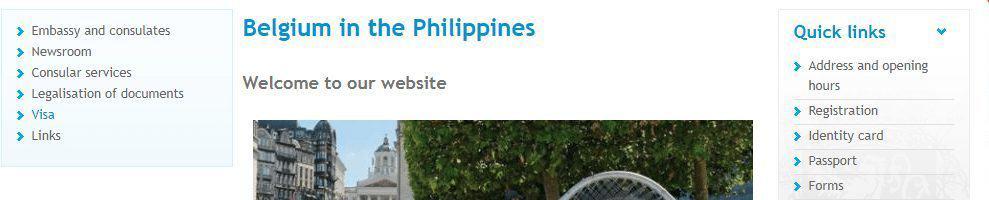 Select visa - official website of Belgium in Philippines