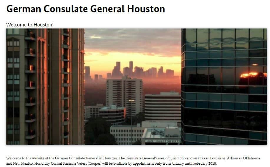 How I Applied for Germany Schengen Visa at the Houston Consulate