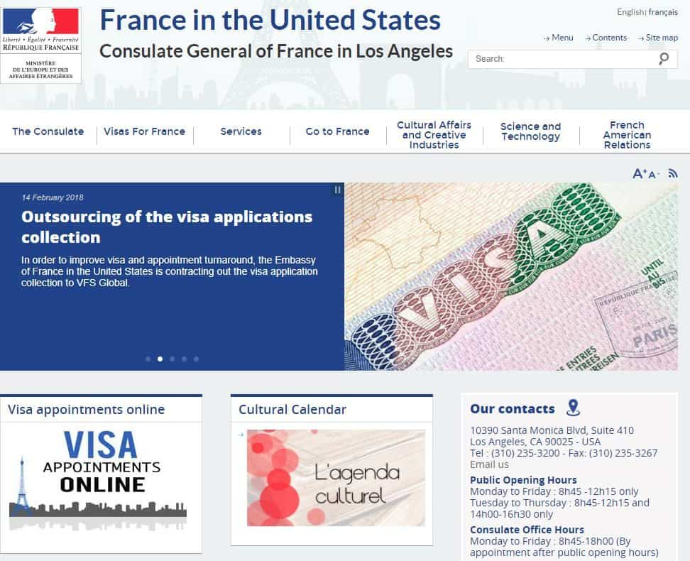 Consulate General of France in LA (English)