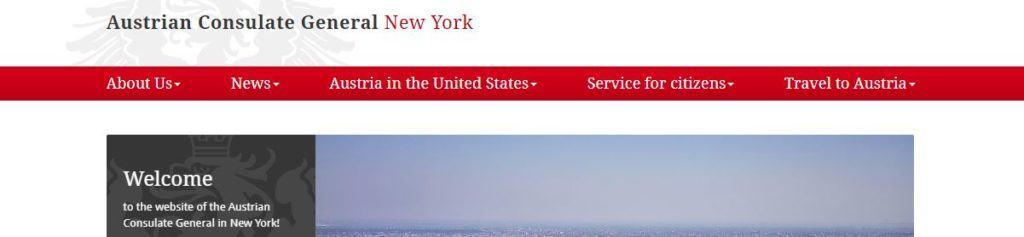 Austrian embassy in NY