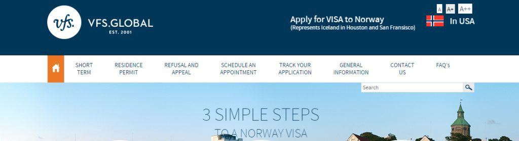 Norway consulate website 3