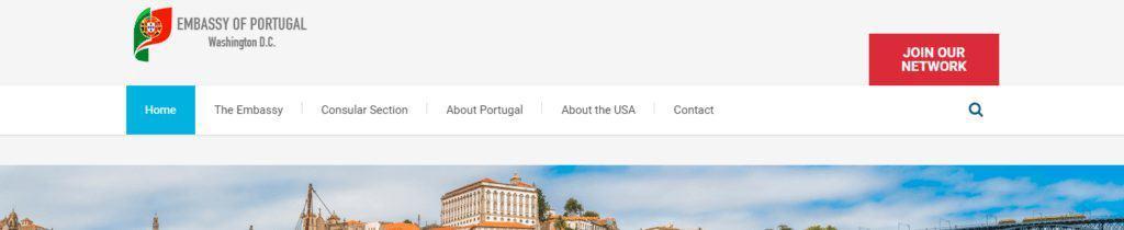 Portugal Consulate website