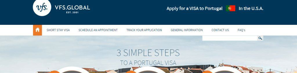Portugal Consulate website appointment