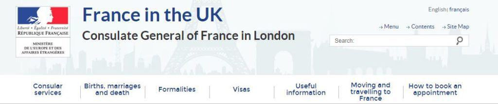 France consulate general in London