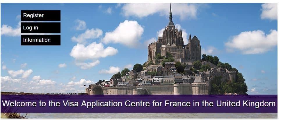 Visa application registration centre