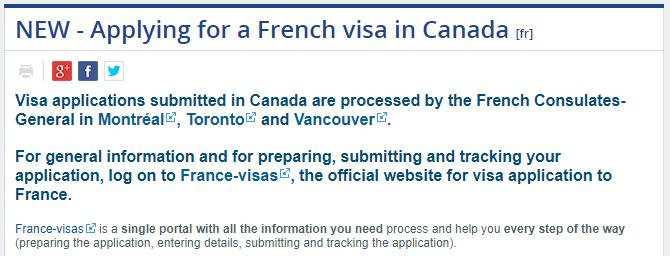 How to Apply for France Schengen visa at the Montreal Consulate?