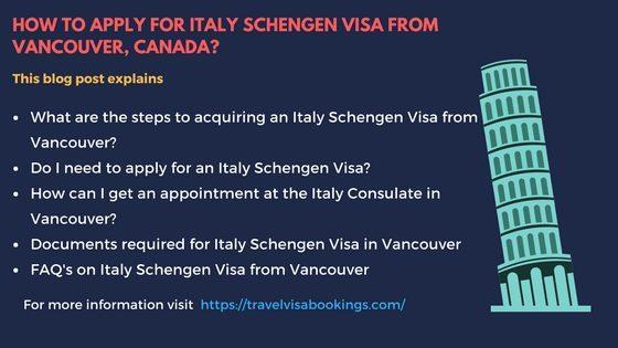 Travel Visa Services Vancouver