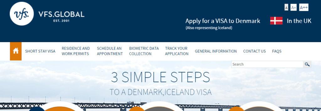 Denmark Schengen appointment process