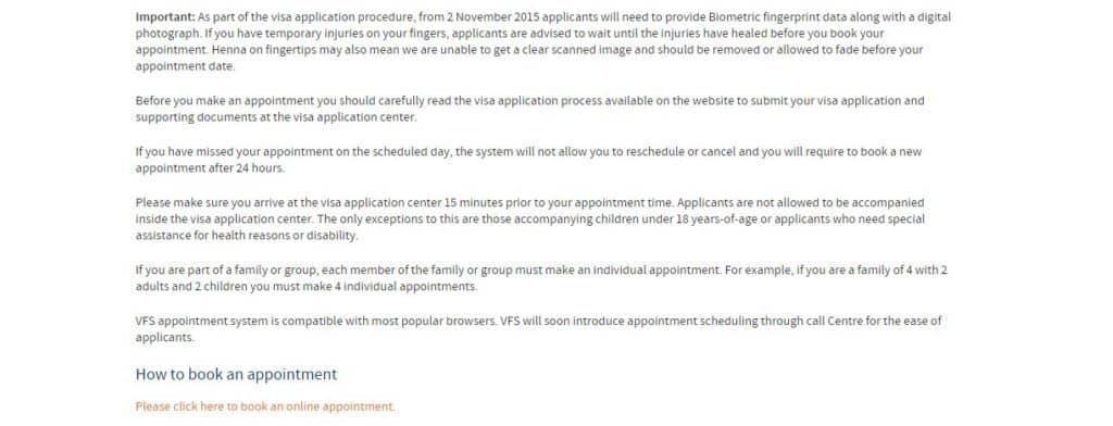 process of booking german schengen visa appointment
