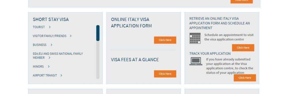 Schengen visa appointment process