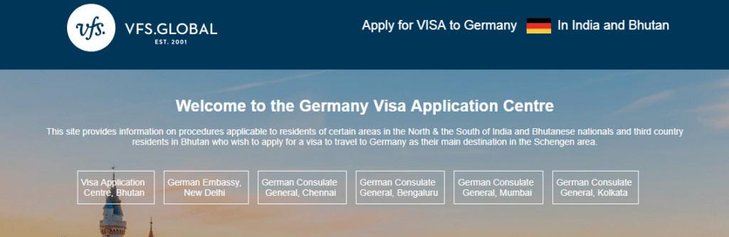 Mumbai Germany VFS