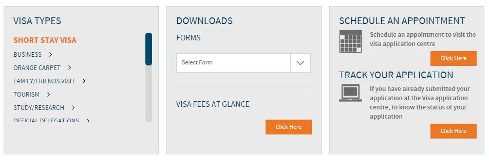 Steps to get Netherland visa