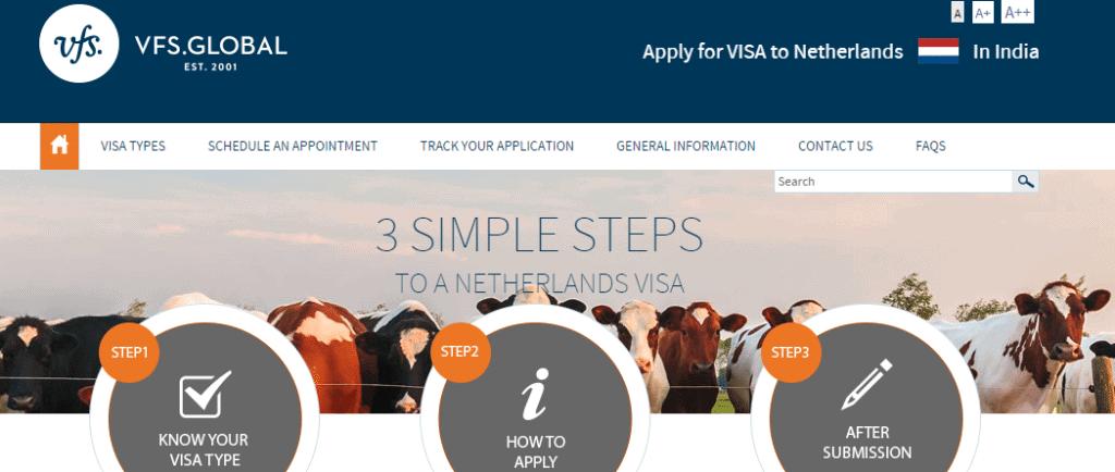 Netherlands visa from Mumbai