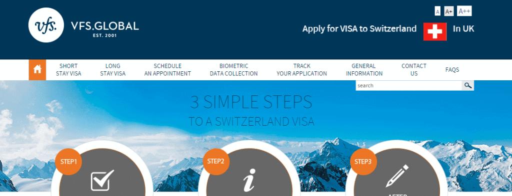 No Schengen visa appointment for Switzerland VFS 1