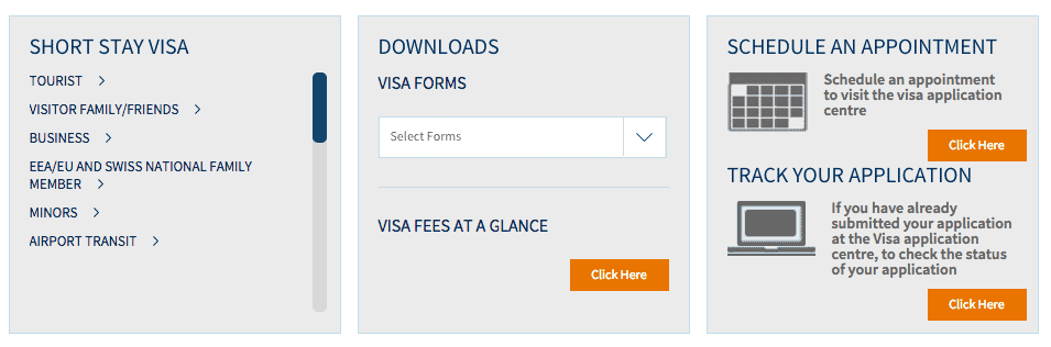 Italy visa appointment process