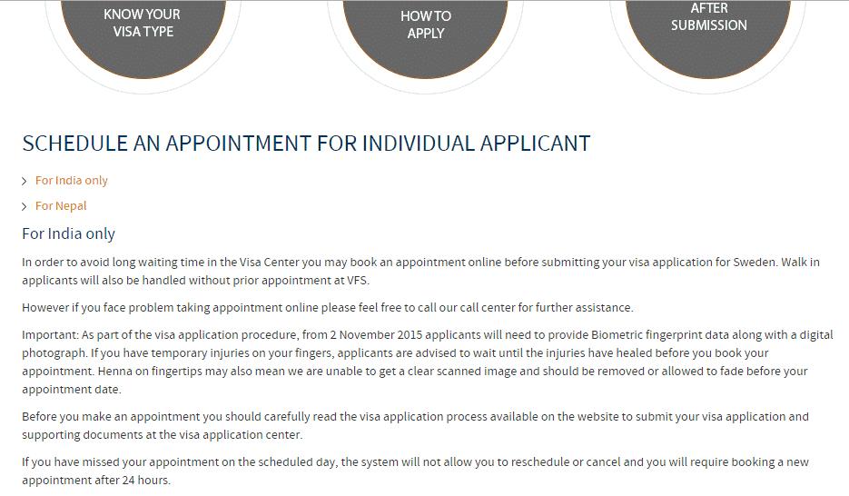 Schenegn visa appointment process -3