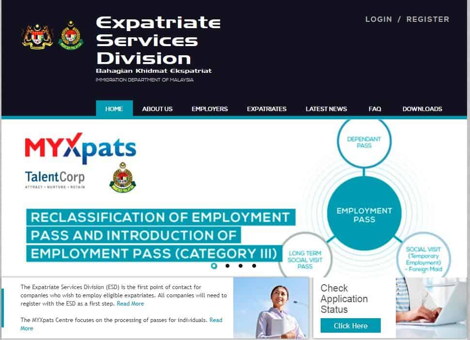 ESD - work visa malaysia