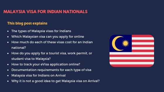 Malaysia Visa for Indian Nationals