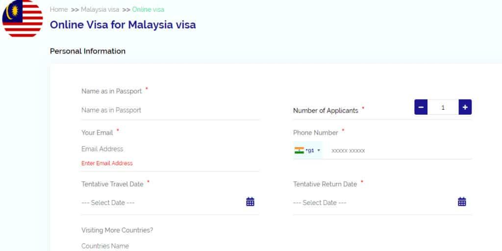Malaysia Visa Online