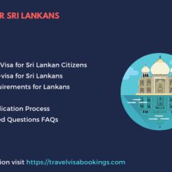 India visa for Sri Lankan citizens